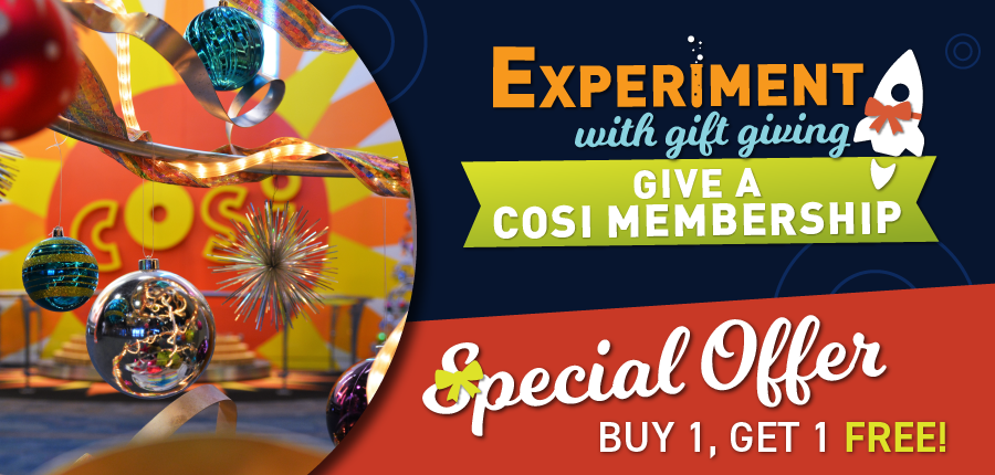 Buy One, Get One FREE COSI Memberships