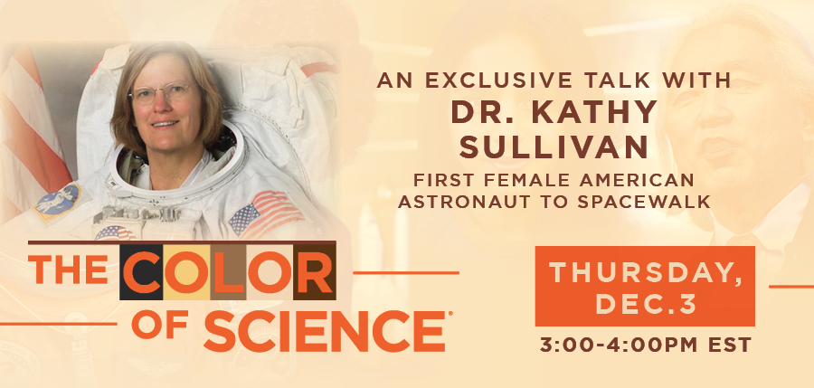 Color of Science - Kathy Sullivan Interview