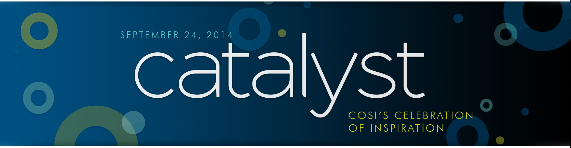 COSI's Catalyst Event Logo