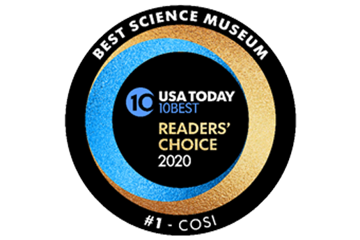 COSI NAMED BEST SCIENCE MUSEUM IN THE NATION!