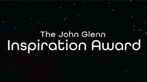 COSI HONORS FIRST EVER JOHN GLENN INSPIRATION AWARD RECIPIENT