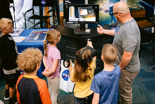 COSI and NASA Announce Unprecedented Partnership for the COSI Science Festival